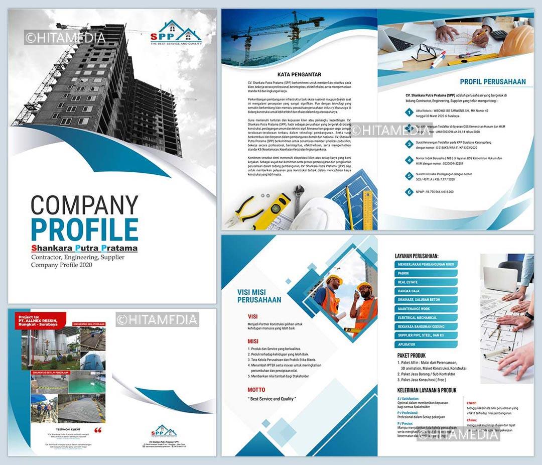 portofolio Harga Jasa Desain Company Profile Balikpapan
